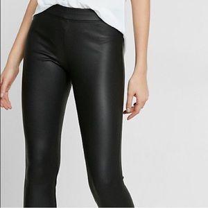 ▪️ Express Black faux leather leggings